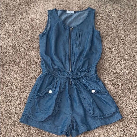Kensie Dresses & Skirts - Kensie Denim Romper